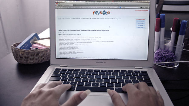 "User on Revolico, the Cuban ""Craigslist"" (Silvia Corbelle, 14ymedio)"
