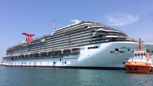 A cruise ship from the American company Carnival Cruise Lines (14ymedio)