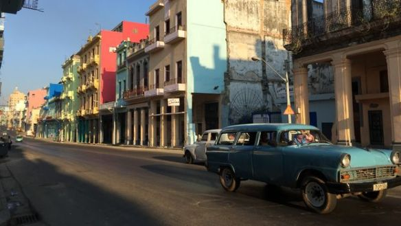 Reina Street in Central Havana. (14ymedio)