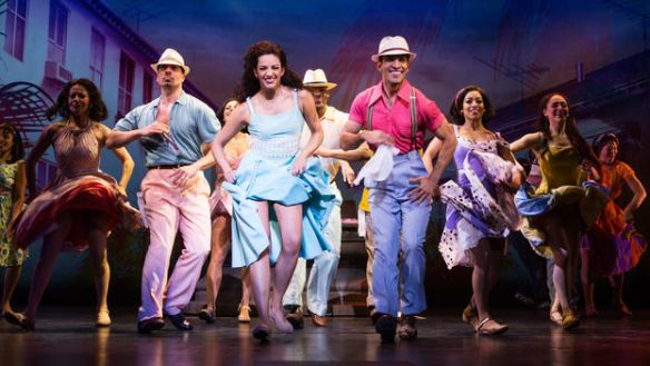 The musical On Your feet! based on the lives of Gloria and Emilio Estefan. (Matthew Murphy)