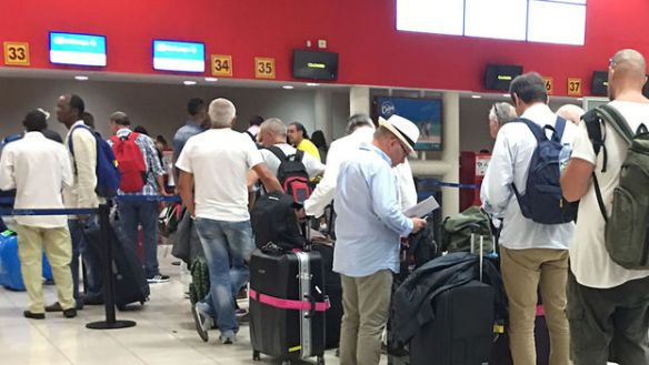 Terminal 3 in Jose Marti International Airport in Havana (14ymedio)
